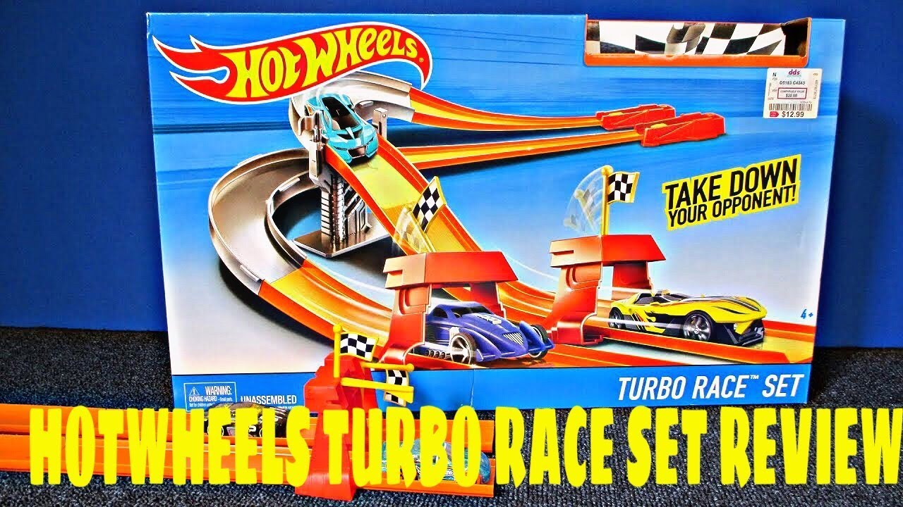 Hot Wheels Turbo Race Track Set Review