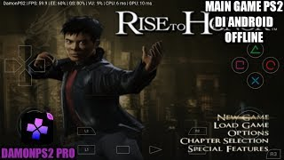 Cara Download Dan Install Game Rise To Honor PS2 Di Android | DamonPS2 Pro Emulator
