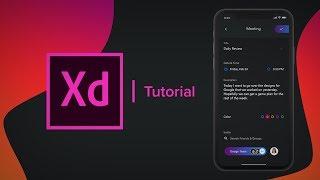 Create a Meetings Social Media App - (Prototype) Adobe Xd Tutorial