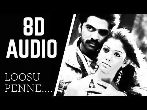 Loosu Penne 8D AUDIO song | vallavan | STR | use headphone