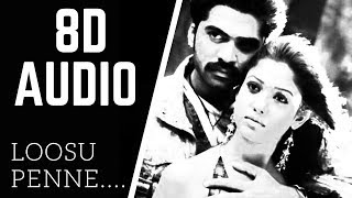 Loosu Penne 8D AUDIO song | vallavan | STR | use headphone