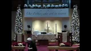 01-04-2015.wmv - Gloria Dei Lutheran Church Sermon - Pastor Vicki Garber