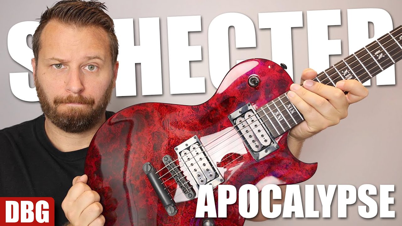 Are You Ready For The APOCALYPSE? - Rocking the Solo II Apocalypse From Schecter!
