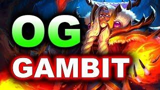 OG vs GAMBIT - SEMI-FINAL - ESL ONE KATOWICE 2019 DOTA 2