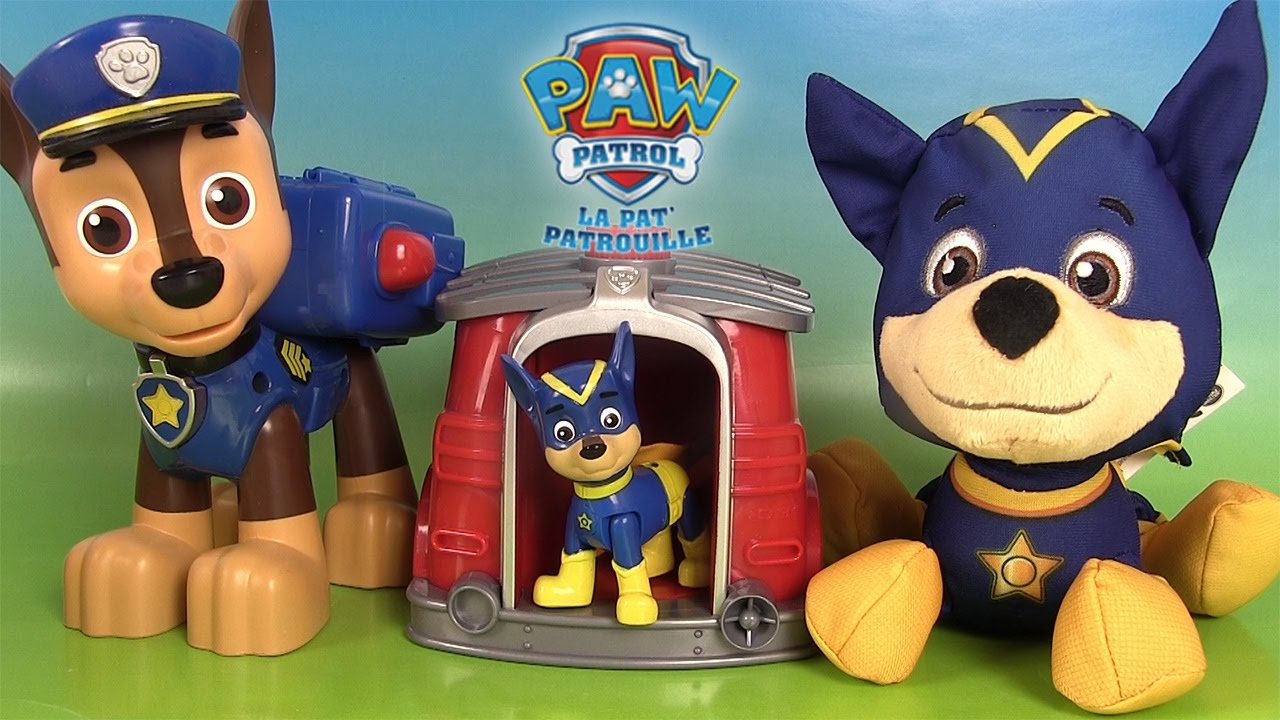 la pat patrouille super h ros jouets chiot h ros pups to super pups youtube. Black Bedroom Furniture Sets. Home Design Ideas
