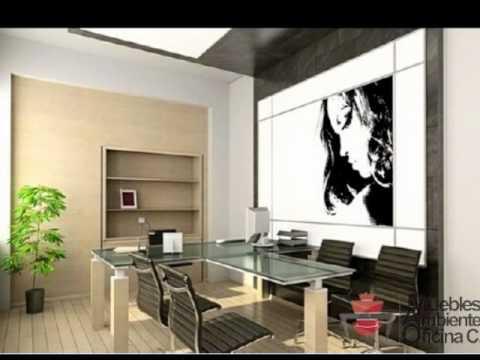 Muebles y ambientes de oficina youtube for Ambientes de oficinas modernas