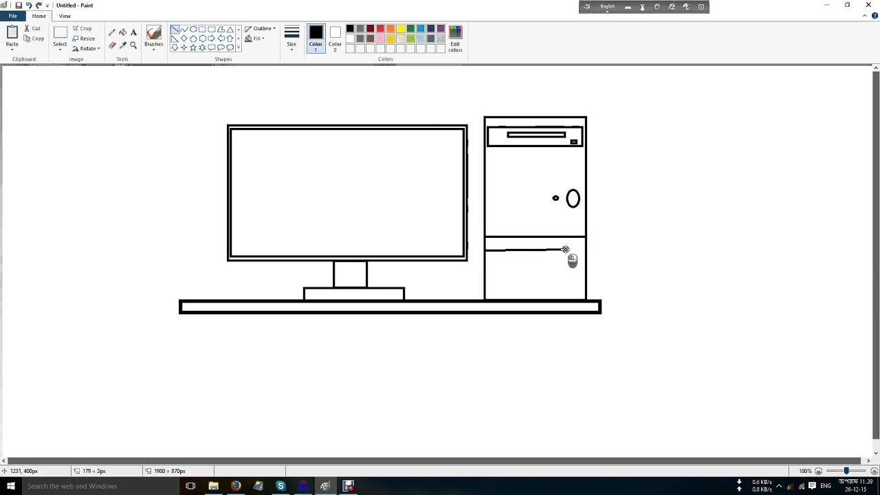 How to draw on the computer Draw on the computer: the program 65