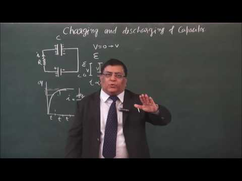 XII-3-22-Charging of capacitor (2016)Pradeep Kshetrapal Physics channel
