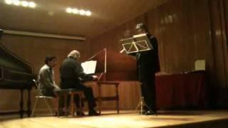 Concierto de flauta y clavecín