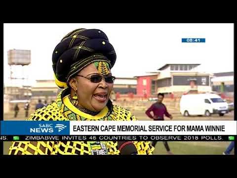 Eastern Cape memorial service for mama Winnie