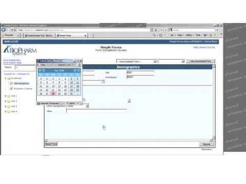 Overview of Simple Forms EDC (used with Oracle Clinical)