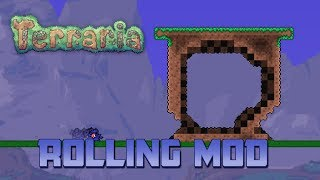 Terraria | Crouch, Crawl, and Roll | Mod Showcase