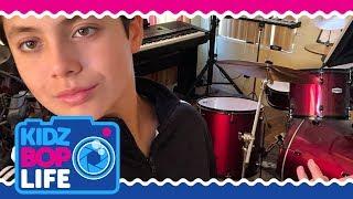 KIDZ BOP Life: Vlog # 35 - Drumming Lessons with Shane