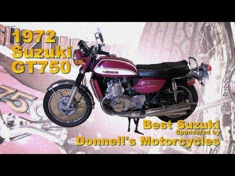 Clymer Manuals Suzuki GT750 Water Buffalo Kettle Vintage ...