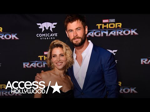 Chris Hemsworth's Wife Elsa Pataky Isn't Too Impressed With His Smoking Hot Bod!  Access Hollywood