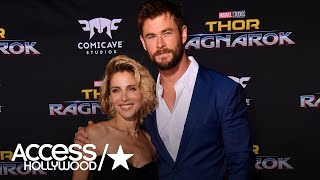 Chris Hemsworth's Wife Elsa Pataky Isn't Too Impressed With His Smoking Hot Bod! | Access Hollywood