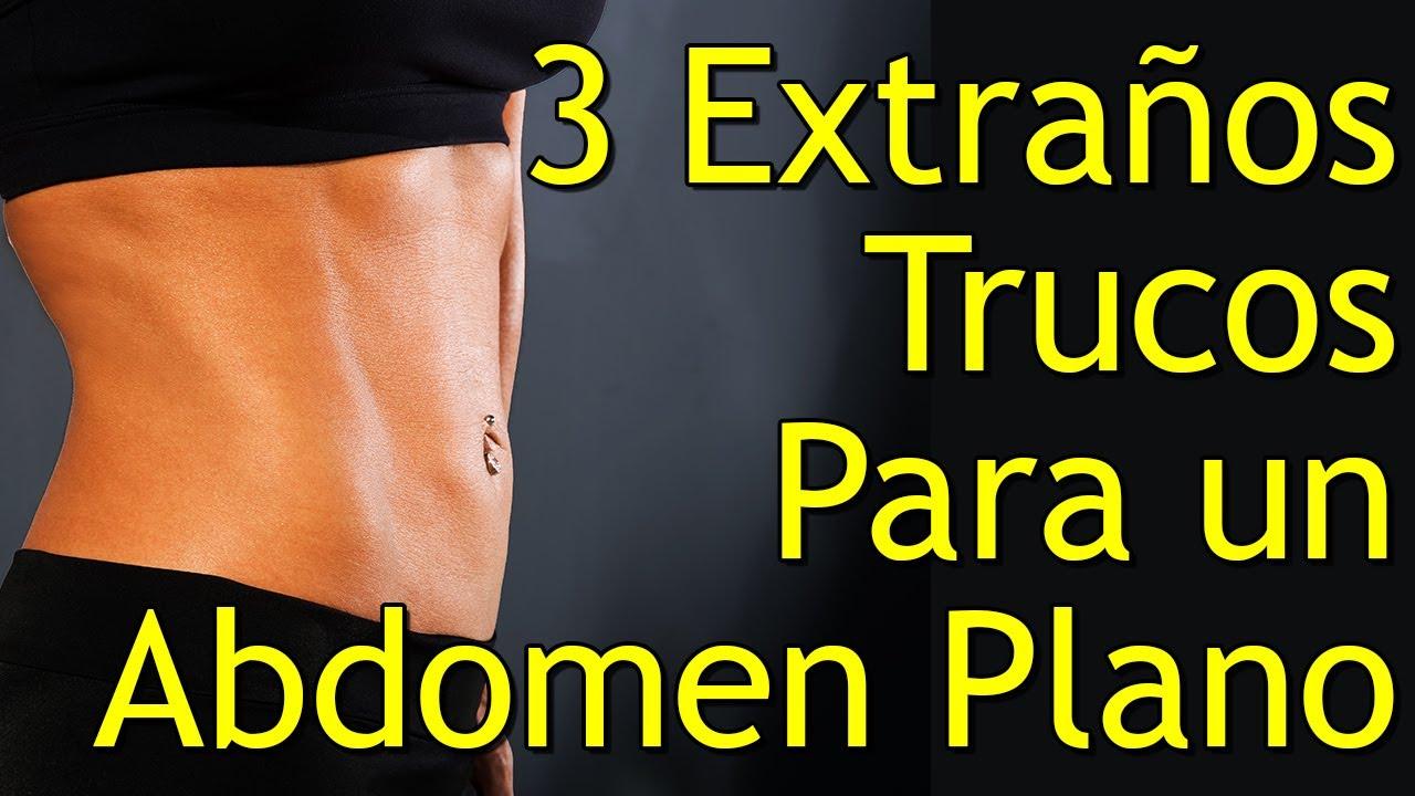 abdomen plano en 3 dias