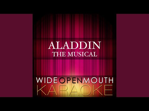 """These Palace Walls (From the Musical """"Aladdin"""") (Karaoke Version) (Original Broadway cast of..."""