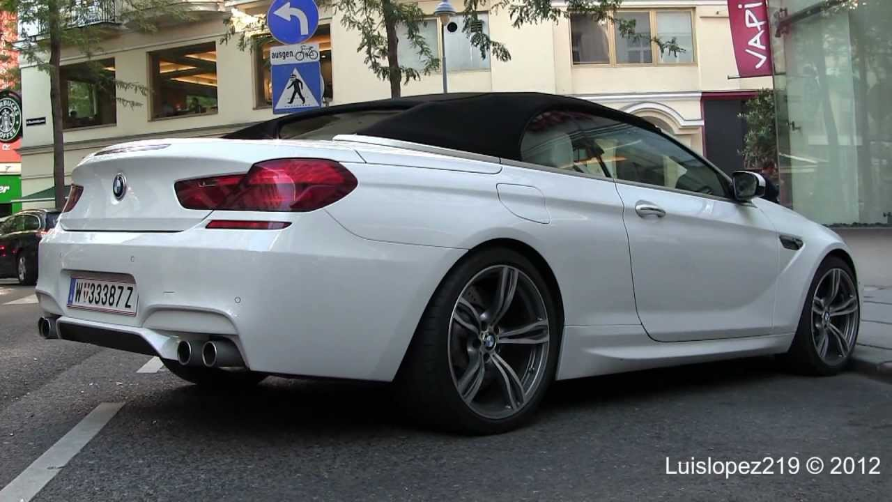 NEW BMW M F Convertible In Detail YouTube - 2011 bmw m6
