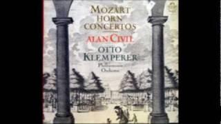 Civil plays Mozart - Horn Concerto No. 1 in D major, K. 412