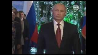 Новогоднее поздравление Президента России В Путина с Новым 2014 годом! Putin Happy New Year 2014(, 2013-12-31T18:50:33.000Z)