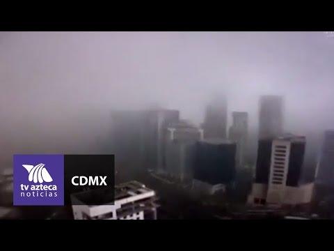 La tormenta de ayer en colapsó gran parte de la CDMX