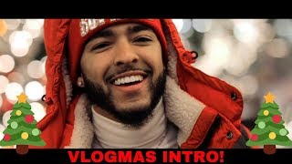 REVEALING MY OFFICIAL VLOGMAS INTRO!!!🎄| JCook's Vlogmas Day 1