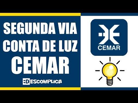 Segunda Via Conta de Luz CEMAR 2021