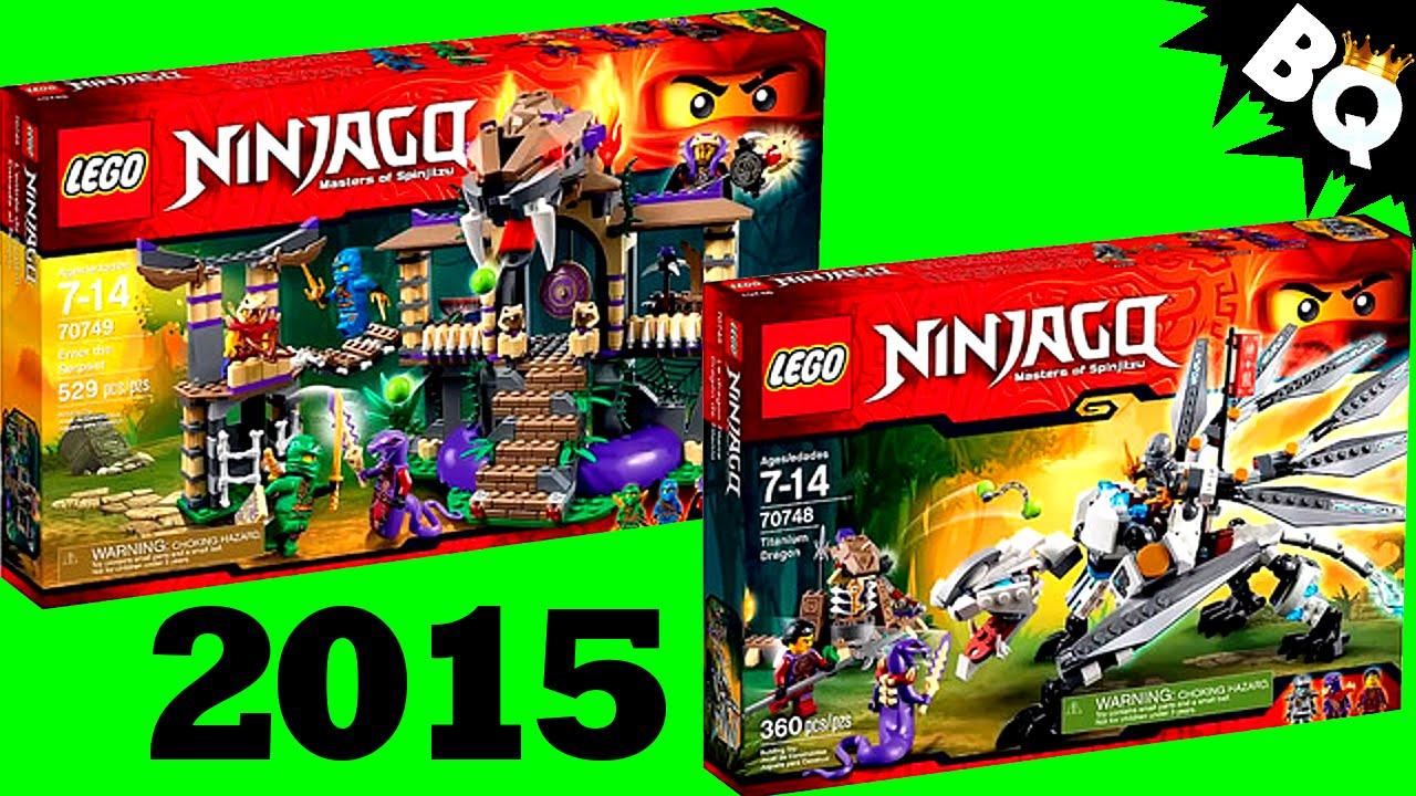 LEGO Ninjago 2015 Set Pictures Revealed - YouTube