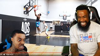 FLIGHT Said 'Hes Scared Of JUNE CASH' Flight Reacts to Cash vs Brawadis 1v1