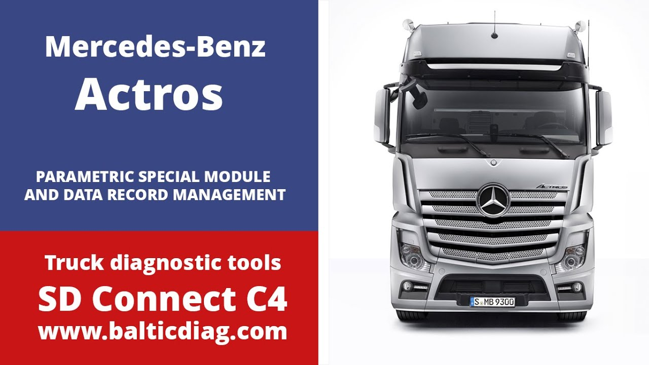 actros psm and data record management www.balticdiag - youtube