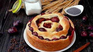 Пирог с маком и сливами - Рецепты от Со Вкусом
