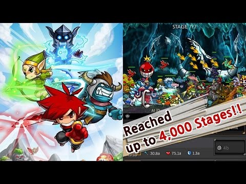 endless frontier gameplay walkthrough ios android youtube. Black Bedroom Furniture Sets. Home Design Ideas