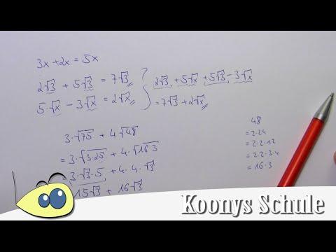Brüche, Potenzen, Buchstaben, Zusammenfassen, mit Binome, Ausklammern | Mathe by Daniel Jung from YouTube · Duration:  3 minutes 12 seconds