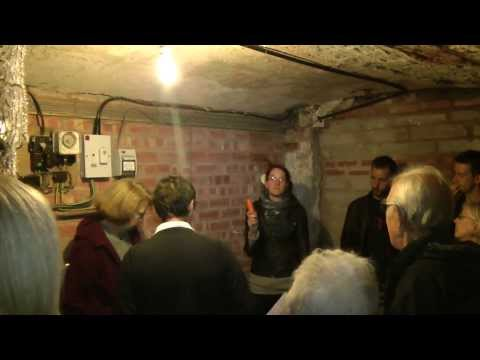 Going Underground .. Mediaeval Tunnels under Newark Town Centre