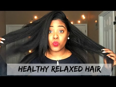 How to Grow Healthy Relaxed Hair