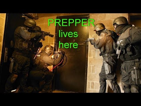 Preppers DIE first .. police going after preppers SHTF 2018