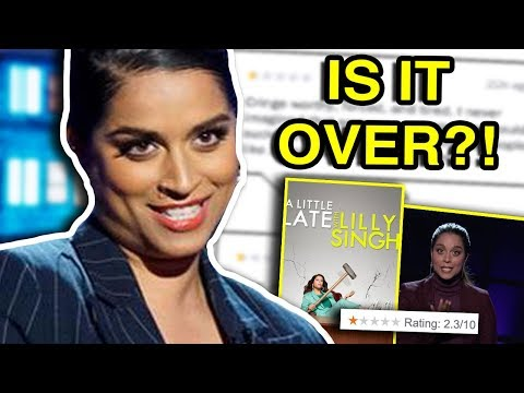 LILLY SINGH'S LATE NIGHT SHOW IS IN TROUBLE