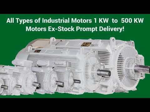 Electric Motors and Rewinding Service Wholesale Trader