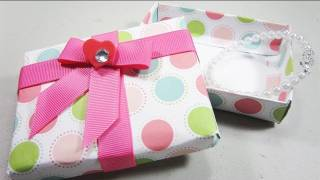 How To Make A Cute Gift Box - Ep