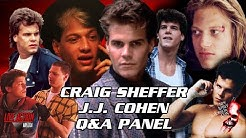 Craig Sheffer & J.J. Cohen Panel - New Jersey Horror Con - The Panel Channel