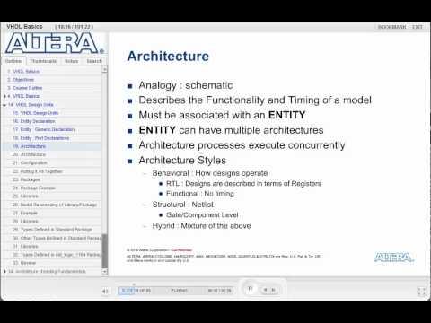VHDL basics _02.1, from Altera