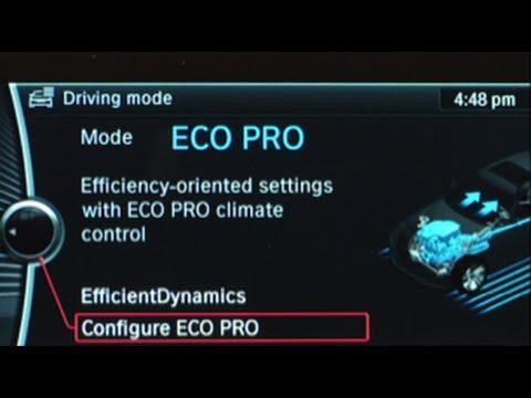 ECO PRO Mode | BMW Genius How-To