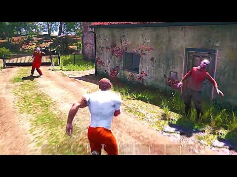 SCUM - New Gameplay Demo (New Open World Prison Game) 2018