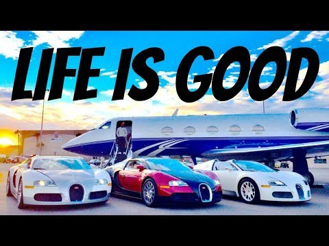 LIFE IS GOOD - Subliminal Wealth Attraction Mind Movie