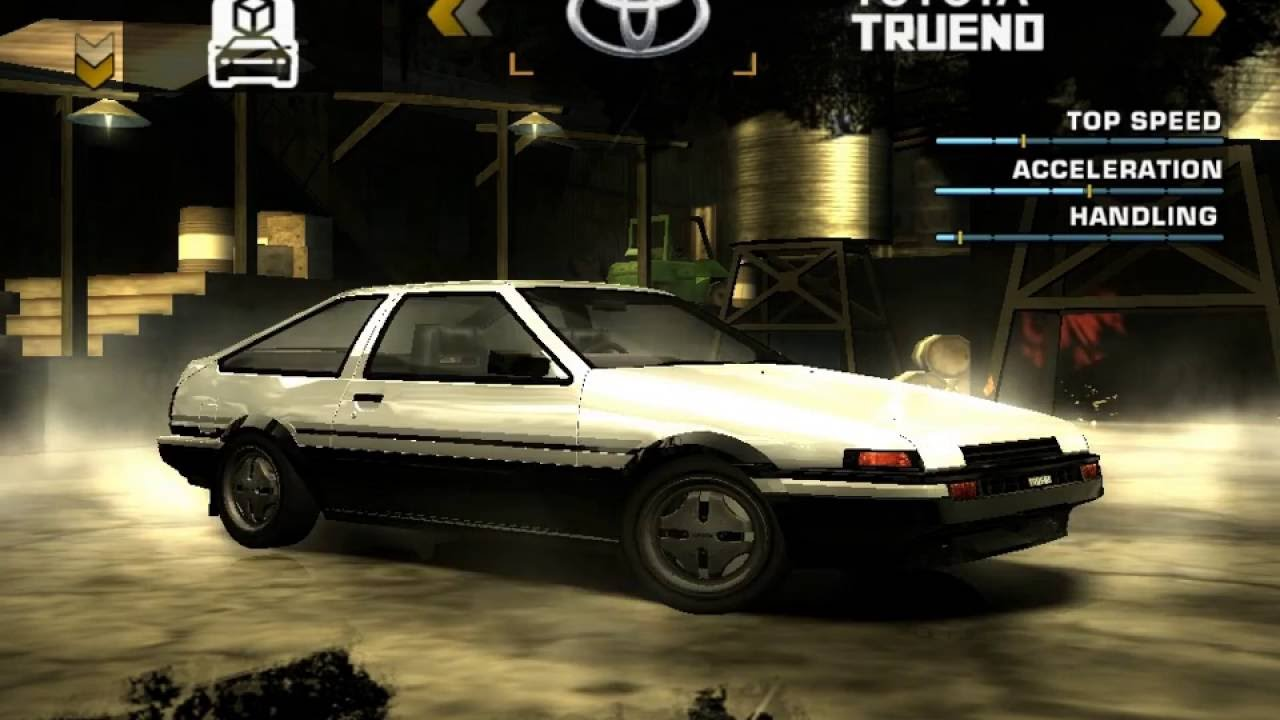 how to get an ae86 in need for speed carbon