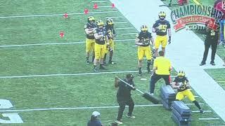 Michigan Football Series: Running Back Technique & Drills