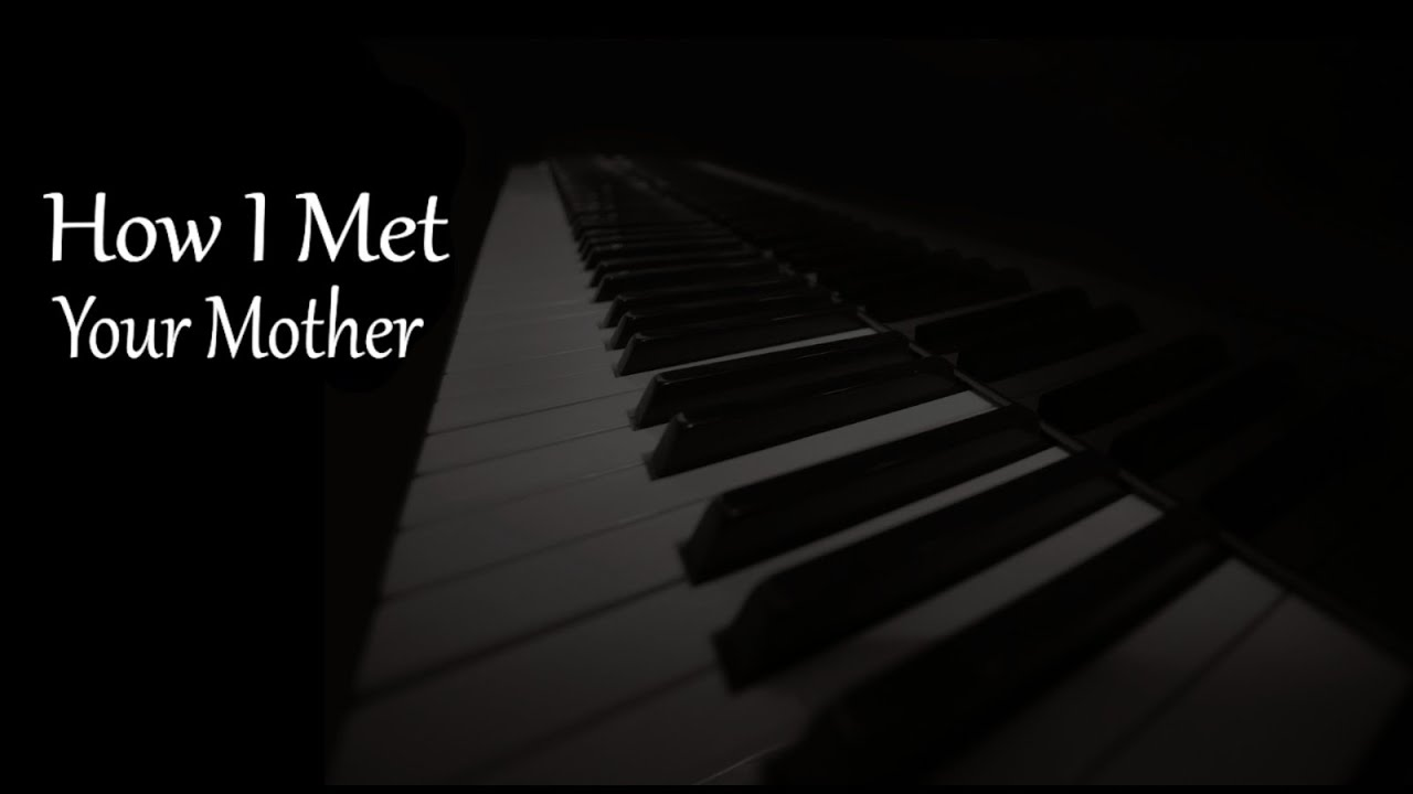 how to play the how i met your mother theme