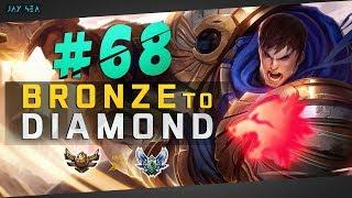 INSANE Roam & Chase Potential | Predator Garen Is Legit Busted | Bronze to Diamond Episode #68
