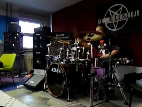 Rammstein - Pussy (Drum Cover) - YouTube